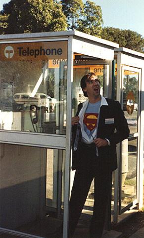 Ian as Clark Kent