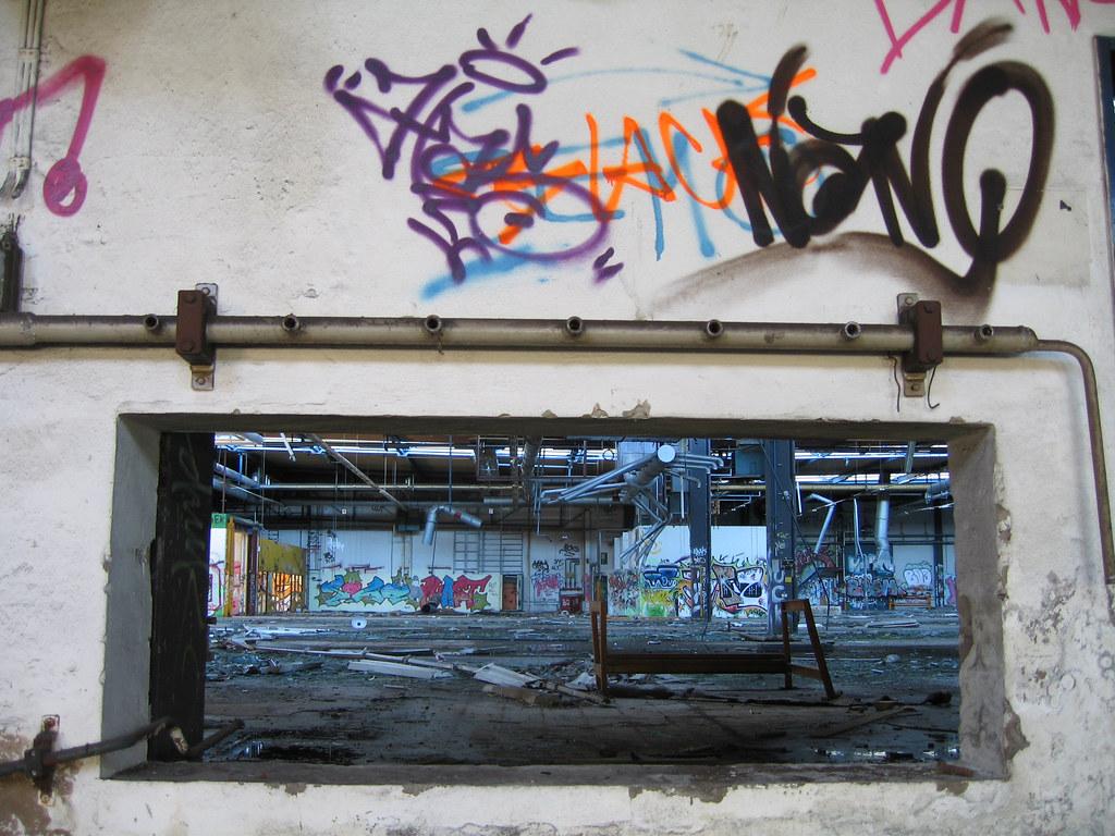Genial Durchbruch Wand Beste Wahl Conti Limmer (cpt. Willard) Tags: Graffiti Fabrik