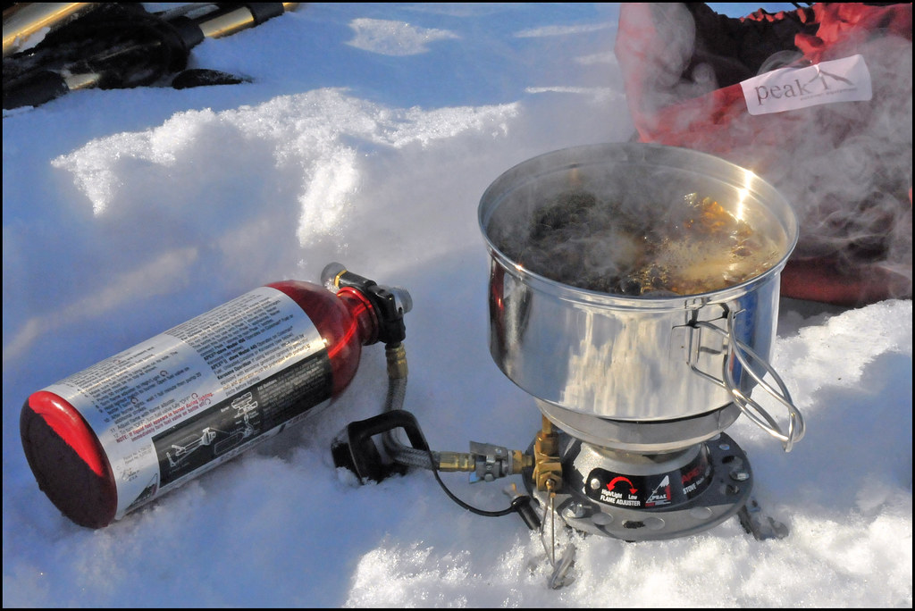 Tea Time In The Snow