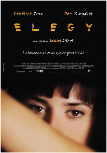 Poster Elegy Isabel Coixet