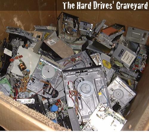 The Hard Drives' Graveyard