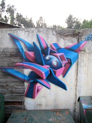 Zade (COLOR IMPOSIBLE CREW) Tags: santiago graffiti 2008 zade lareina fros mongetun activart