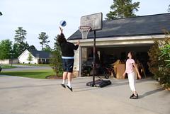 jump (Alexis Devaney) Tags: basketball jump katie anthony georiga