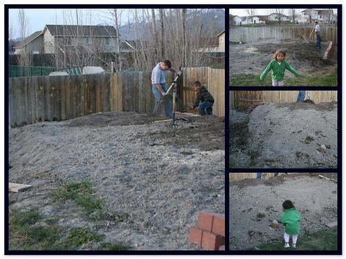 Building a garden