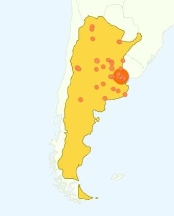 Visitantes argentinos
