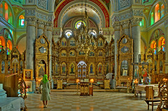 Odessa  Praying (jandudas) Tags:   a eastern europe black sea port old city architecture ukrajina ukraine ukrajna oekrane ades ucraina odessa orthodox church photomatix 3exp hdr peachofashot