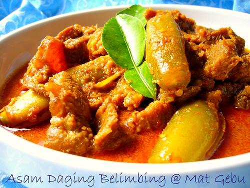Asam Daging Belimbing