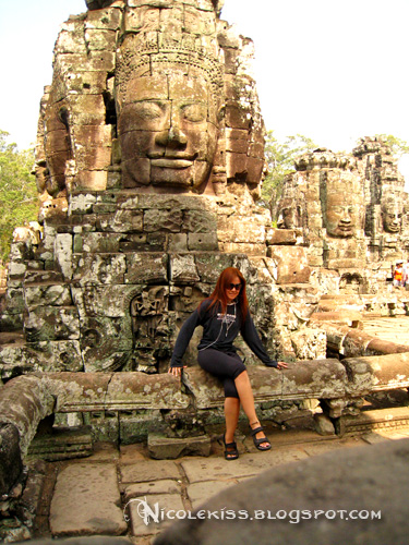 sitting at bayon