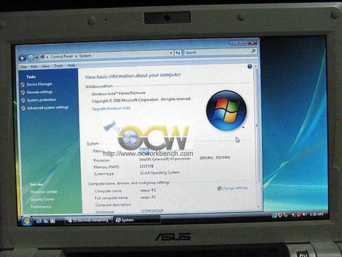 Eee PC 900 Vista