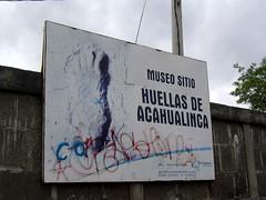 Huellas de Acahualica/足跡博物館