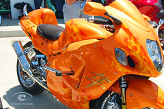 Custom Hayabusa DSC_1959 (Eyeshotpictures) Tags: orange chrome motorcycle sportbike custom hayabusa custompaint custommotorcycle eyeshotpictures fastestmotorcycle jasonbrittion