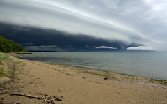 Shelf Cloud, Milwaukee, WI (DFasules) Tags: weather wisconsin landscape milwaukee wisconsinthunderstorms