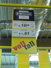 Bionade wird teurer