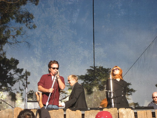 John Mellencamp, T Bone Burnett, and Neko Case at the Hardly Strictly Bluegrass Festival 2007