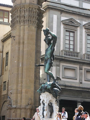 Perseus and the head of Medusa, Florence (Wendrew) Tags: italy florence tuscany uffizi