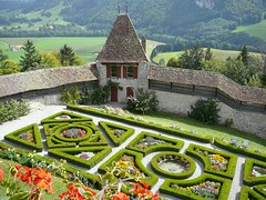 Gardens at Gruyere