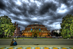 you, me, and albert (-milky joe-) Tags: london royalalberthall hdr photomatix sigma1020 anawesomeshot goldenphotographer diamondclassphotographer