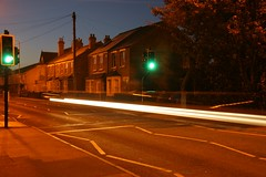 traffic blur, by the exeter hall cowley rd.