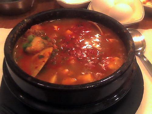 Spicy Tofu in Clay pot