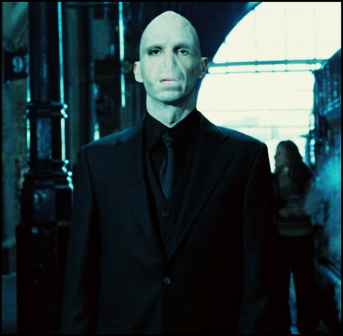 Myself as Lord Voldemort by myself as....