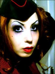 halloween make up & hair test