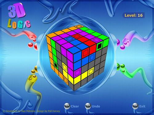Thumb Juego de lógica en un Cubo 3D
