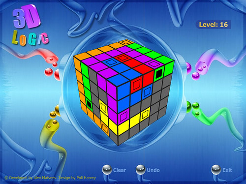 Juego Logica cubo 3D