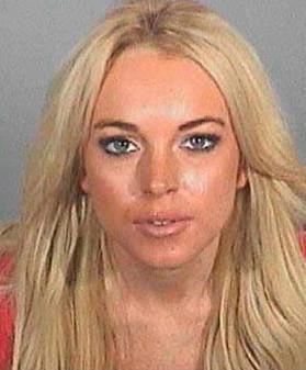 Lindsay Lohan mugshot