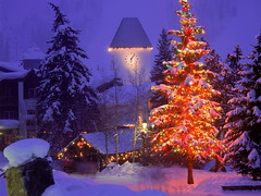 Christmas Village, Vail, Colorado (kruhme) Tags: christmas schnee wallpaper usa snow tower clock weihnachten navidad luces colorado village unitedstates nieve vail reloj turm fondo estadosunidos fondodeescritorio hintergrundbilder golddragon abigfave platinumphoto flickrdiamond overtheexcellence