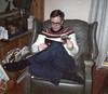 Robert Allen Brown, Germantown, NY, Christmas ~ 1970?