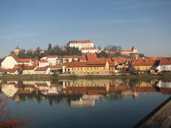 panoramica di Ptuj sulla Drava