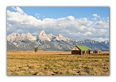 House on Mormon Row (Apothegary) Tags: landscape nationalpark yellowstone mormon mormonbarn