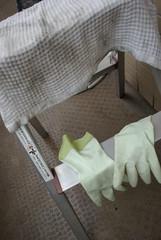 ゴム手袋は必需品@大掃除 / Rubber gloves