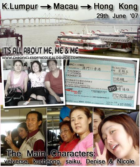 macau to HK