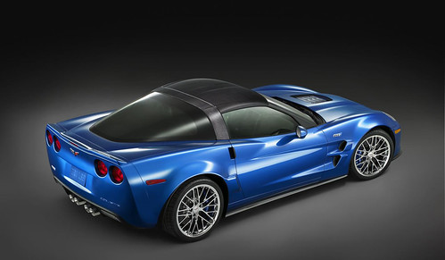 Фотки нового Chevrolet Corvette ZR1