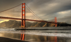 Golden Gate Bridge (Josh Sommers) Tags: bridge storm clouds golden gate day hdr photomatix tonemapped canon2470mmf28l weekendamerica abigfave diamondclassphotographer