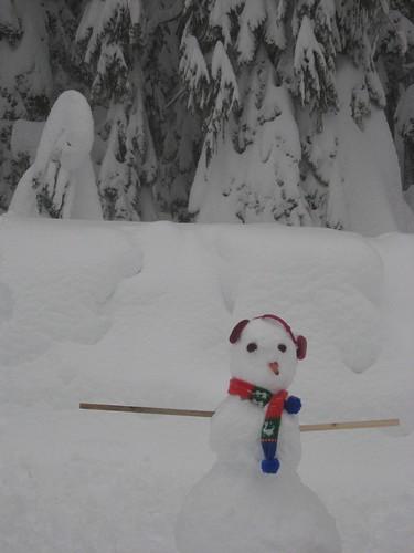 Cypress Bowl Snowman