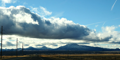 Looking out over North Prescott Valley...