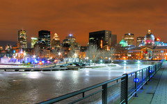 Old Montreal - Winter version (Nino H) Tags: longexposure winter light canada ice skyline architecture night buildings montral market quebec lumire montreal hiver skating qubec oldmontreal nuit march hdr patinoire vieuxmontral bonsecours noreflection abigfave goldenphotographer photoquebec