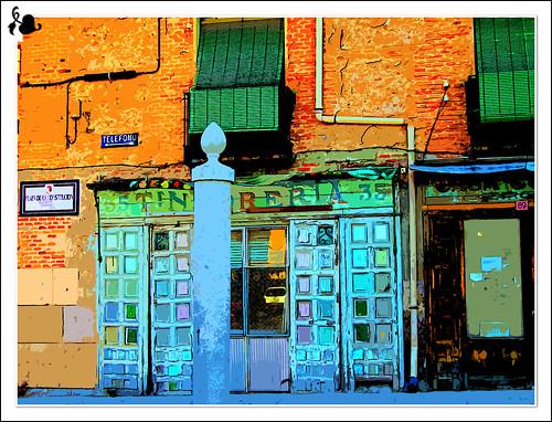 antigua tienda en Aranjuez