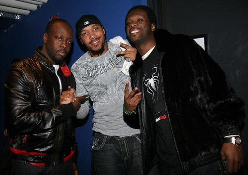 PICTURES from Lyfe Jennings &#038; WYCLEF concert .... pras and that dude from hustle and flow show up<br />