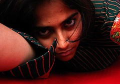 Intense (Stuti ~) Tags: red black green eye love true this is am eyes indian enigma what brave how lust core kohl conscience