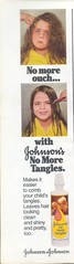 1970's Johnson's No More Tangles (twitchery) Tags: vintage ads hair conditioner tangles vintageads vintagebeauty