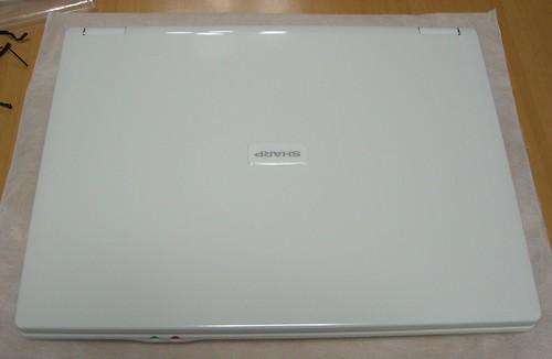 Mebius PC-CW50V 天板