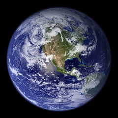Blue Marble (Planet Earth) by woodleywonderworks, on Flickr