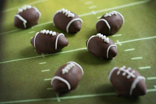 Football Oreo Truffles