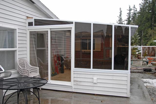 Sunroom construction 09