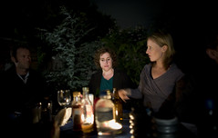 candlelight setting (- haf -) Tags: iron melbourne bbq chef haf