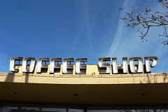 COFFEE SHOP (dogwelder) Tags: california sign neon coffeeshop zurbulon6 tolucalake bobsbigboy idontdrinkcoffee zurbulon gatturphy