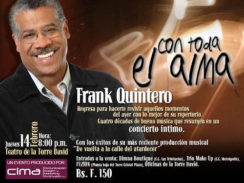 Fran Quintero en concierto